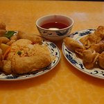 Sweet & Sour Chicken, with Fried rice
