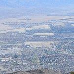 Coachella Valley below