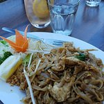 Pad Thai was really tasty.