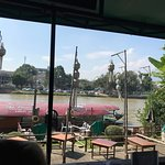 Beer garden and river cruise