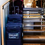 We also carry a variety of suitcases and travel accessories.