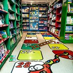 Enjoy our fun and colorful children's section, filled with Icelandic and English children's book