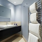 New Signature bedrooms have stylish new bathrooms with walk in showers
