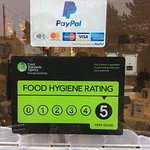 We are a 5 ⭐️⭐️⭐️⭐️⭐️ Food hygiene establishment!!