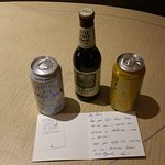 Surprise gift from Paul (Assistant Manager at Novotel on Collins)