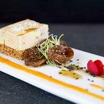 Foie gras mi cuit