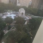 Hyde Park -view from 20th floor.