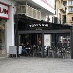 Outside the Tony's Bar Sliema