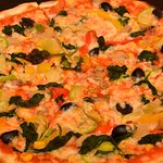 Very tasty Alessa pizza