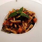 Roast vegetable fresh pasta