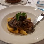 Lamb Cutlets and Chips