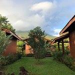 view from our casita - base of Arenal Volcano