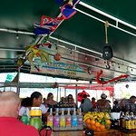 The small boat bar that packs a punch with delicious food and drinks!