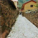 Calles tipicas al rededor del hostal