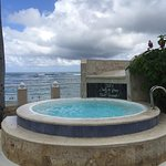 Cooling tub at the VIP Beach
