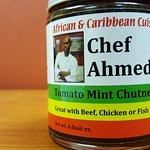 Chef Ahmed's Tomato Min Chutney available at our sister store Jambo Imports