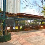The aviary in Kowloon Park