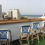 Фотографии зоны отдыха на крыше отеля