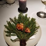 Langoustine over pine needles