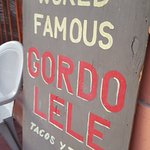 Wish we could have tried you Gordo LELE's!!!