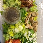 Disappointed Chopped Salad - barely no chicken (<1oz.) and skimpy portions of everything.