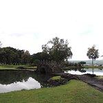 Arched bridge in Liliuokalani Gardens/Park