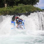 National park route is a great choice for a thrilling white water trip