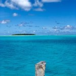 Photos don't begin to do Aitutaki justice. One of the most beautiful lagoons in the world! Ali a