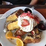 COCONUT AND MACADAMIA NUT FRENCH TOAST - 9.95