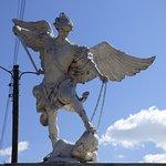 Depiction of the Archangel Michael (San Miguel Arcángel).