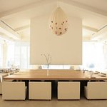 White Pavilion dining space
