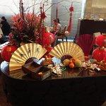 Chinese NY display