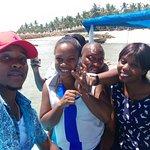 Clients heading to Mbudya Island for a getaway: Mbudya Island is an uninhabited island in Tanzan