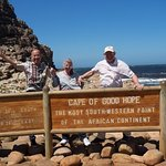 Tommo Sue Les at Cape Point