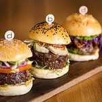 Burgers at Bar Boulud, London