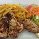 Good portion, Piri Piri Chicken, Delicious!