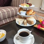 Afternoon Tea in the Garden Room.