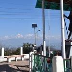 Himalayas from the Anashakti Ashram Kausani