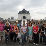 Our Tour Group at the Chiang Kai Shek Memorial Hall