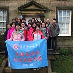 Visiting school group from China enjoying a Bronte day.