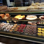Decadent pastries and cakes