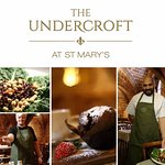 The Undercroft cafe at St Marys Guildhall