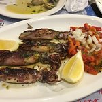 Very tasty squid
