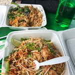 The Pad Thai Shrimp and Noodle meal, as well as the shrimp and fried rice meal.