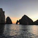 Arch on Sunset Cruise