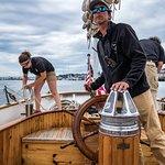 Captain Sean & Crew on Schooner Wendameen