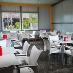 Gran salón comedor - El Chiringuito en Salinas (Alicante)