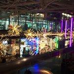 Window view: Christmas everywhere!