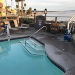 Pool and jacuzzi include ADA accessible chair lifts