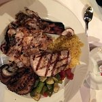 Octopus, Sword fish, and Red Snapper